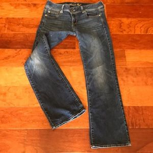 American Eagle Stretch Slim Boot Jeans (size 10)